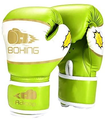 Children Kids Boxing Sparring Training Gloves MMA Kick Boxing Punching Gloves JL