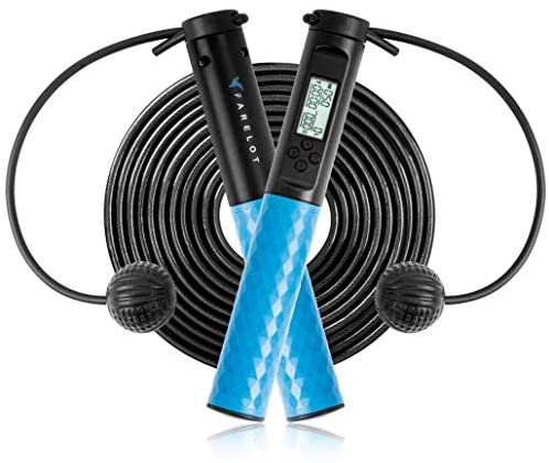 Jumping Adjustable Calorie Count Timer Skipping Jump Rope With Counter